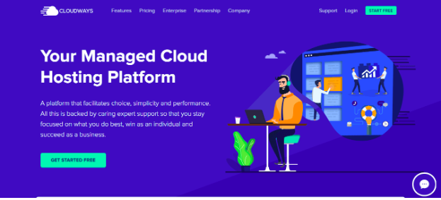 Cloudways Get Started Now
