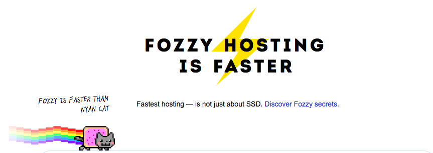 Fozzy Hosting Get Started