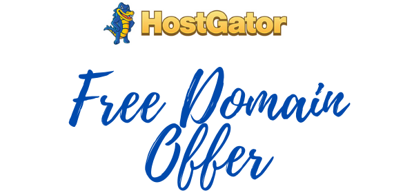 New Free Domain Offer
